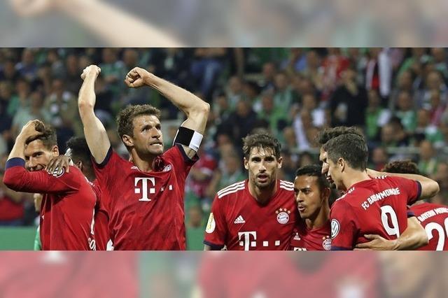 Bayern dank Elfmeter im Pokalfinale