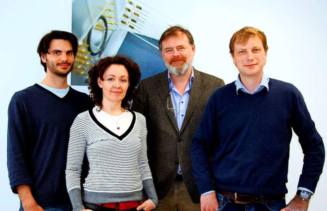Das Ionera-Gründungsteam (von links): ...tseva, Jan Behrends und Gerhard Baaken    Foto: Marcel Hoffmann