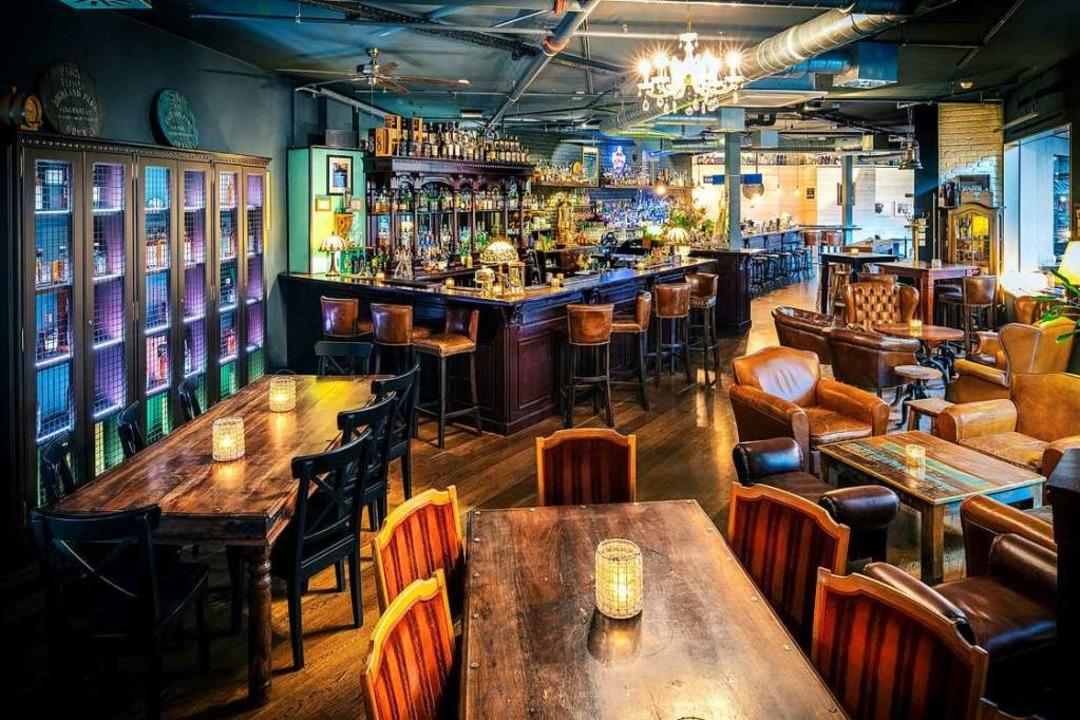 Die Bar Hinz & Kunz in Basel    Foto: Steven Kohl Photography
