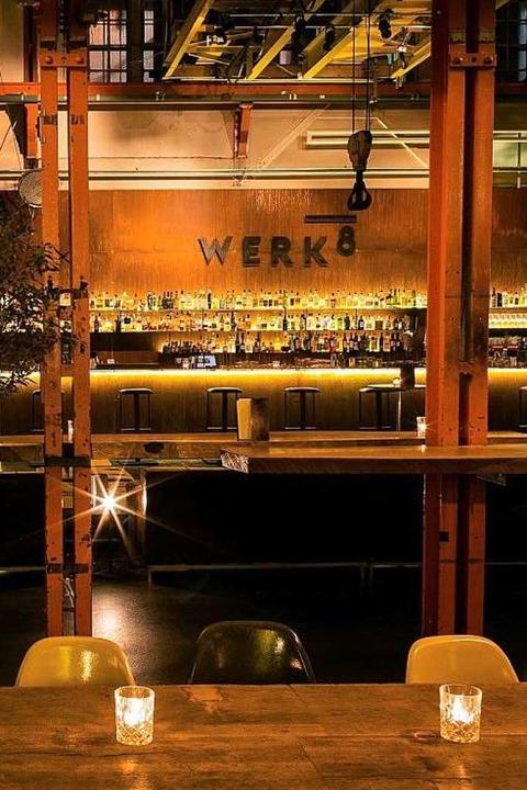 Die Bar Werk 8 in Basel. Auf der Karte...ssische Cocktails und Signaturedrinks.    Foto: Privat