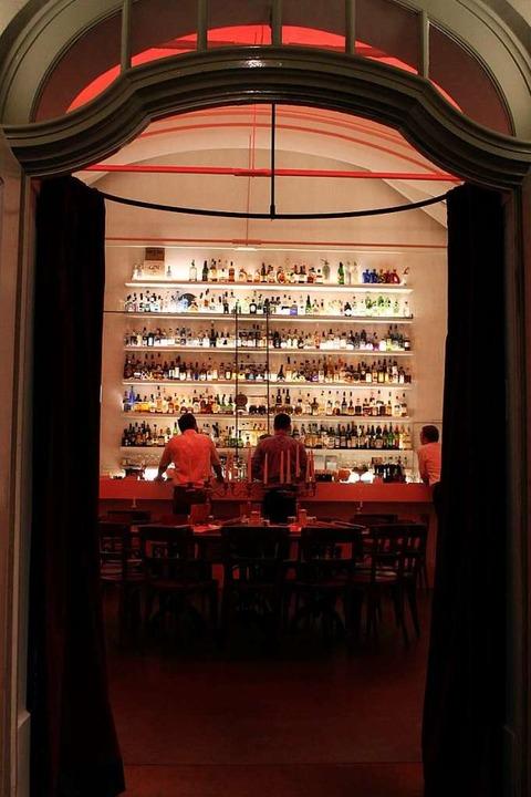 Die Bar Zum Kuss in Basel    Foto: Privat