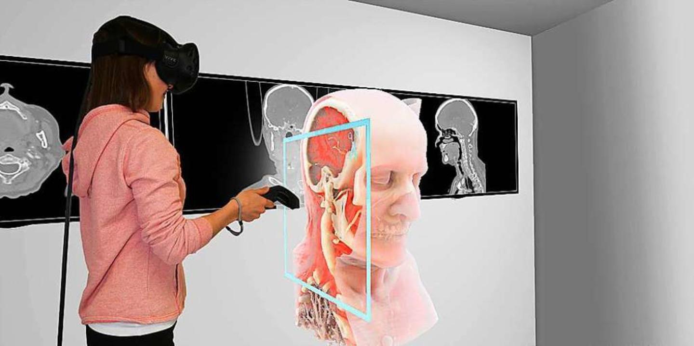Virtuelle Realität ermöglicht den Blick ins Innere des Menschen.  | Foto: Universität Basel, Department of Biomedical Engineering