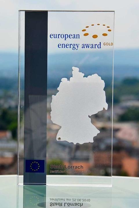 Lörrach trägt den European Energy Awar...eht es nicht ohne privates Engegament.  | Foto: Nikola Vogt