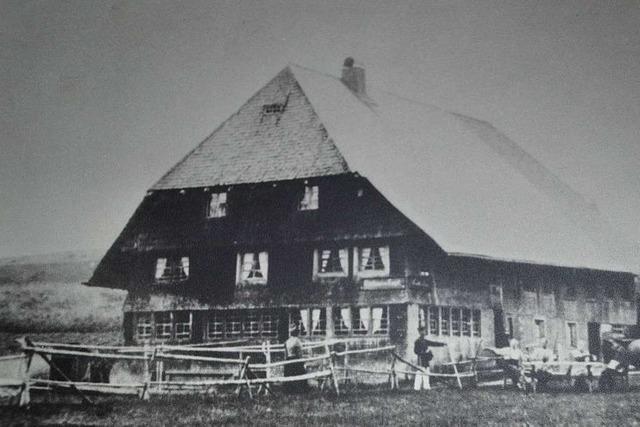 In diesem Haus in Titisee-Neustadt werden seit 200 Jahren Gäste bewirtet