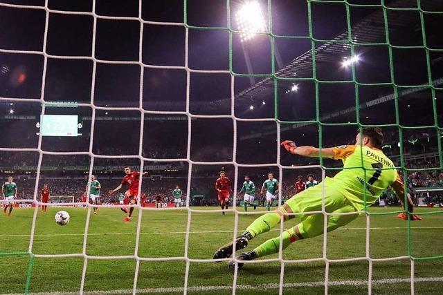 Bayern München – mit einem Fleck ins DFB-Pokalfinale