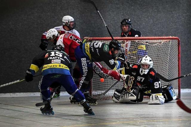 Vor Skaterhockey-Derby: