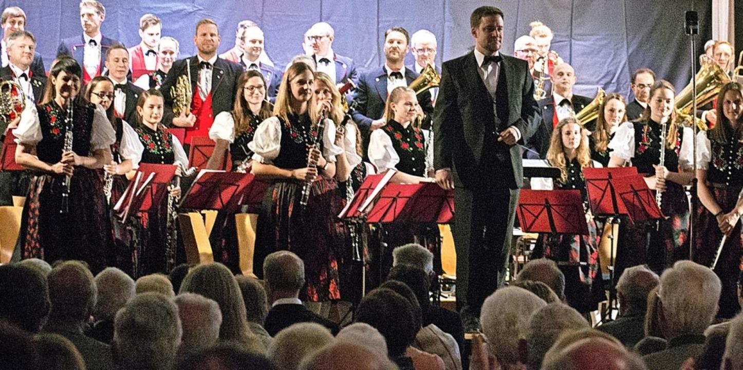 <BZ-FotoAnlauf>Schwarzwaldkapelle Müns...sterkonzert kam beim Publikum gut an.   | Foto: privat