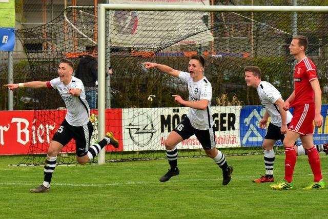 Der FC Teningen hat bereits eine Hand am Verbandsligaticket