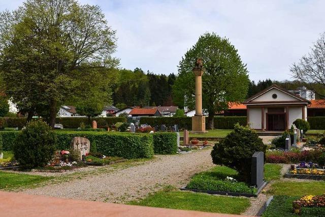 Auf dem Friedhof in Fahrnau ist es zu Diebstählen gekommen