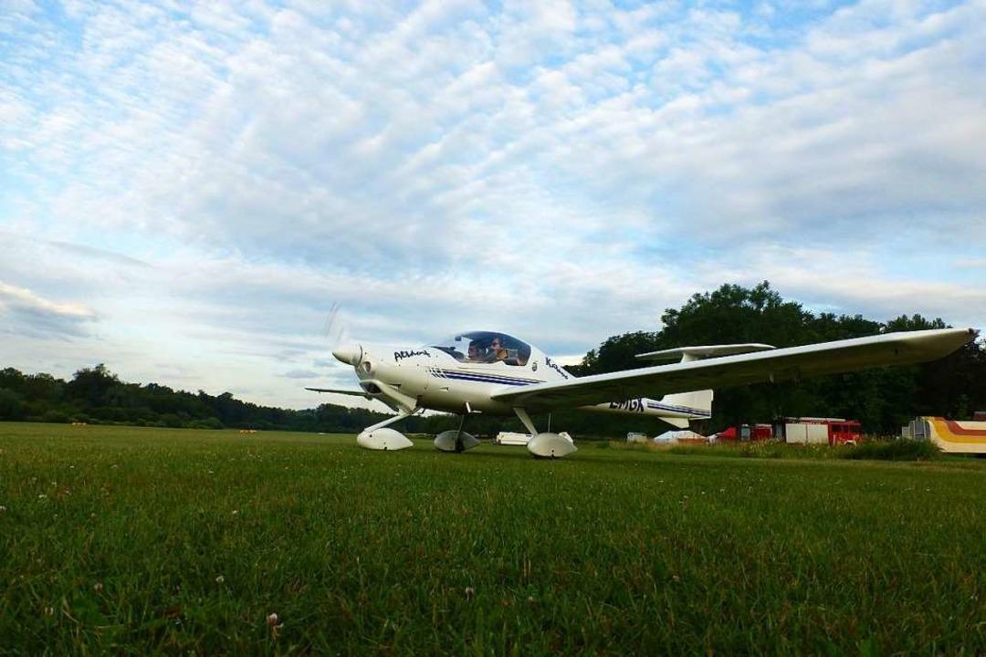 Auf dem Flugplatz in Altdorf hat wiede... der Segel- und Motorflieger begonnen.    Foto: Privat