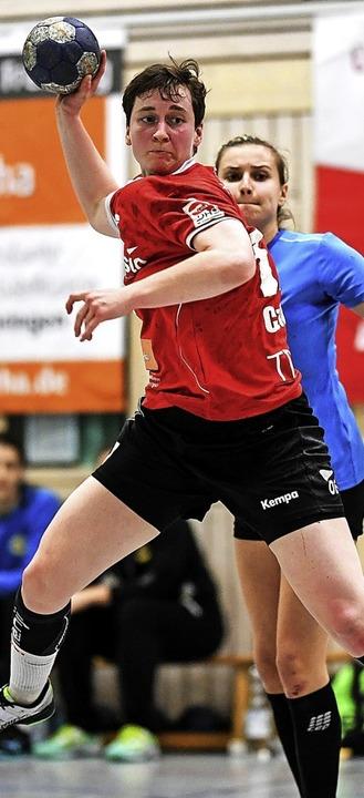 Ohne Nadine Czok müssen die HSG-Frauen...inale in der Dritten Liga bestreiten.   | Foto: Seeger