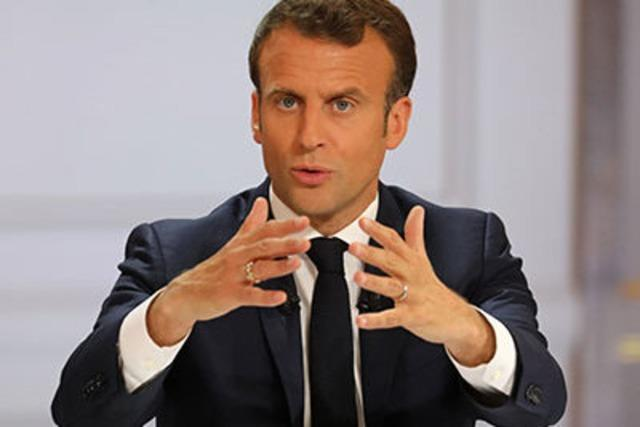 Frankreichs Staatschef Macron verspricht Steuersenkungen