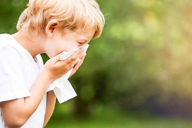 Allergien bei Kindern: