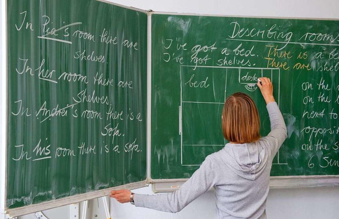 Es gibt viel zu tun bei  der Ermittlun...chtsqualität und in der Lehrerbildung.  | Foto: dpa
