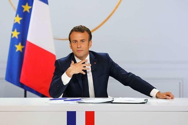 Macron beschwichtigt die Gelbwesten mit Symbolpolitik