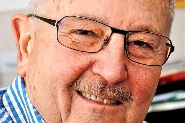 Der Lahrer Stadtrat Gerhard Straubmüller hört nach 20 Jahren auf