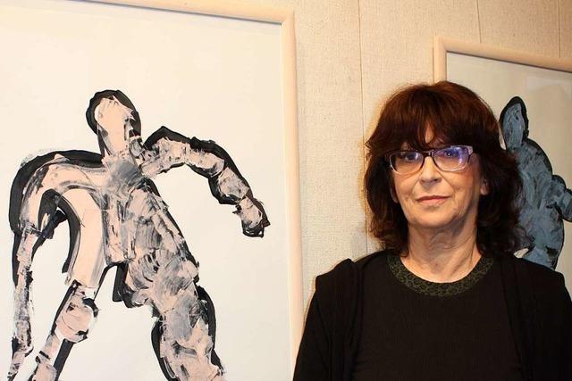 Eine Ausstellung in Gundelfingen zeigt Werke der Künstlerin Anja Goslar