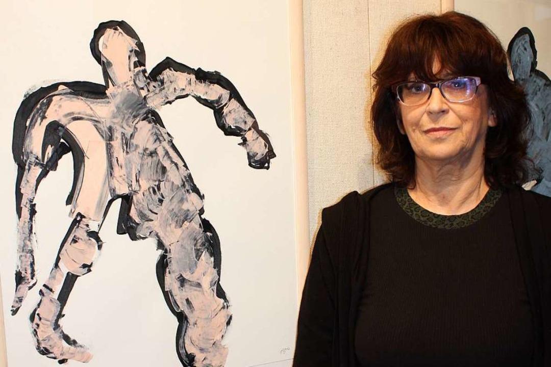 Für Anja Goslar ist Kunst ein großer Freiraum für Neugier und Denkabenteuer.  | Foto: Gabriele Fässler