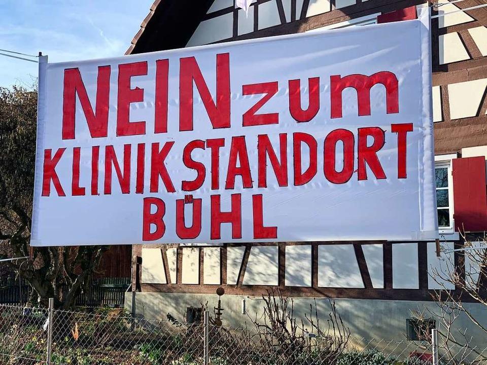 Der Ortsteil Bühl stemmt sich gegen de...dort Holderstock in der Nachbarschaft.  | Foto: Helmut Seller