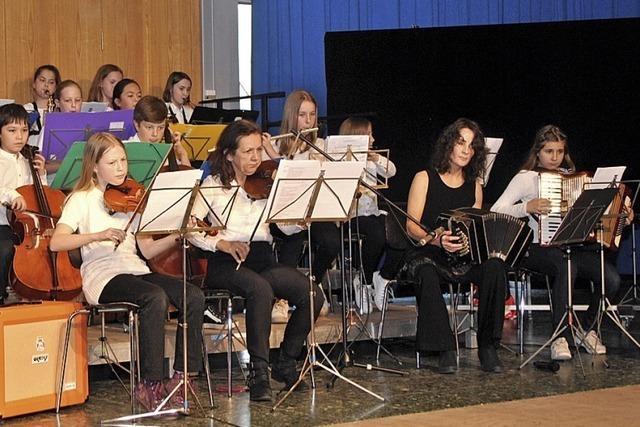 Musikalische Reise der Faust-Schüler in Staufen
