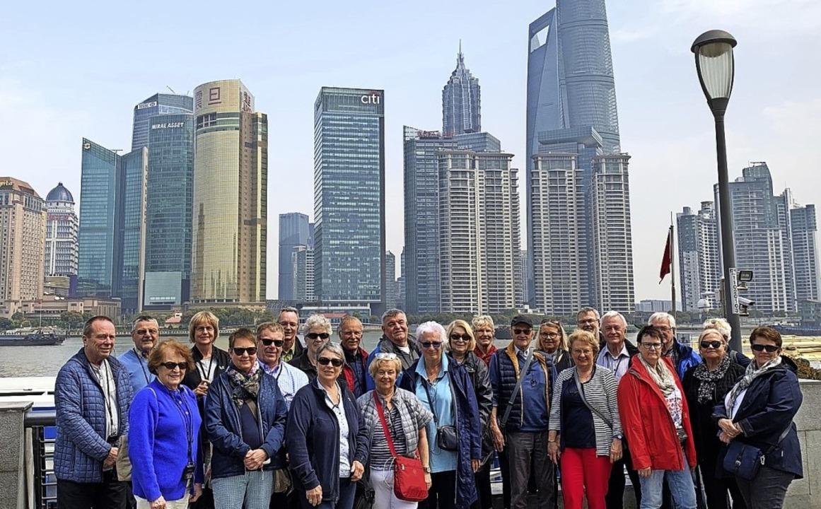 <BZ-FotoAnlauf>VHS Zell:</BZ-FotoAnlau...anten Skyline von Pudong  in Shanghai.  | Foto: Privat