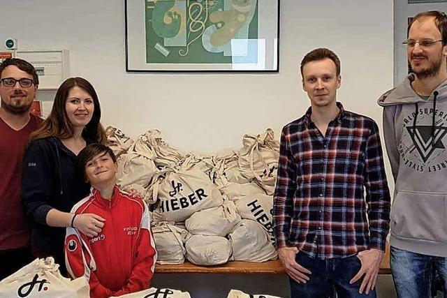 Leo-Club sammelt Lebensmittel-Spenden