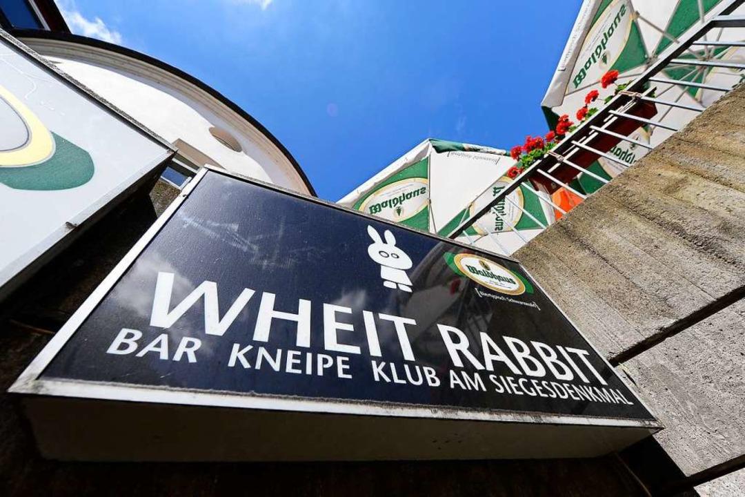 Ist bald Geschichte: Das White Rabbit am Leopoldring.    Foto: Ingo Schneider