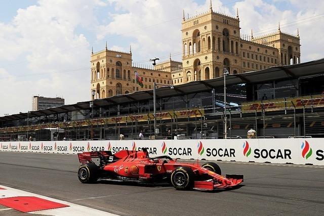 Vettel hofft in Baku auf die Wende