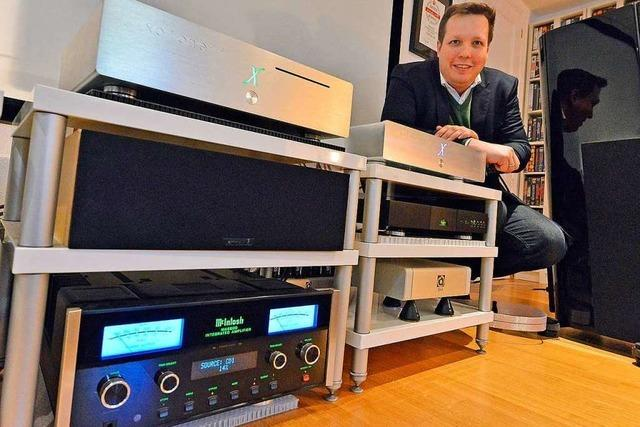 Freiburger Firma X-Odos baut Premium Hi-Fi-Gerät – auch für den China-Export