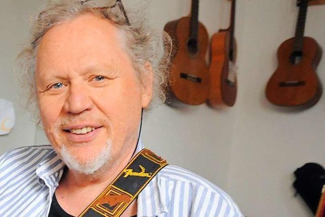 Hary de Ville stand mit Blueslegenden auf der Bühne – und ist in der Region selbst eine