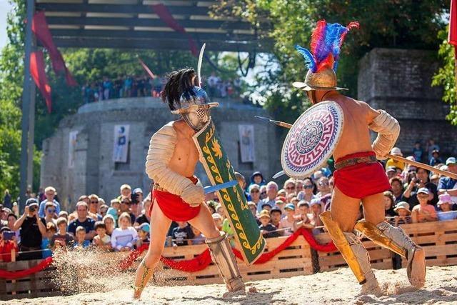Die Römerstadt Augusta Raurica zeigt die Gladiatoren in neuem Licht