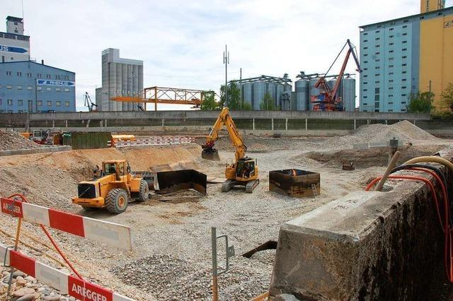 An Stelle des Tanklagers sollen in Basel Gewerbe und Dienstleistungen entstehen
