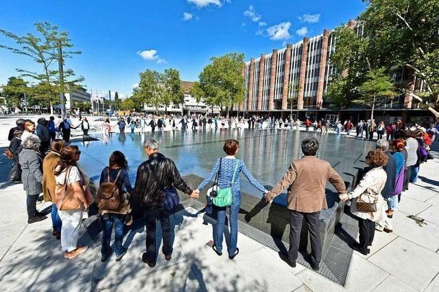 Stadt Freiburg will 700.000 Euro in den Umbau des Synagogenbrunnens investieren