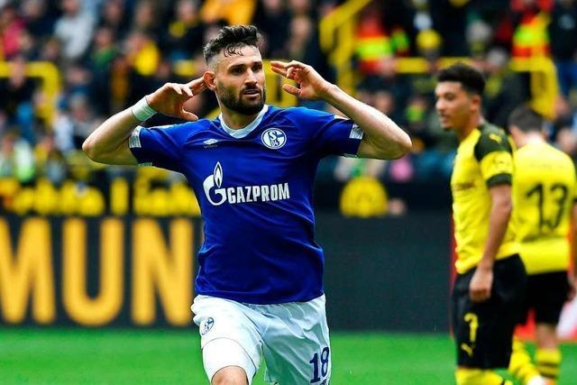 Dortmund sieht doppelt rot – Caligiuri trifft doppelt bei Schalker 4:2-Derbysieg