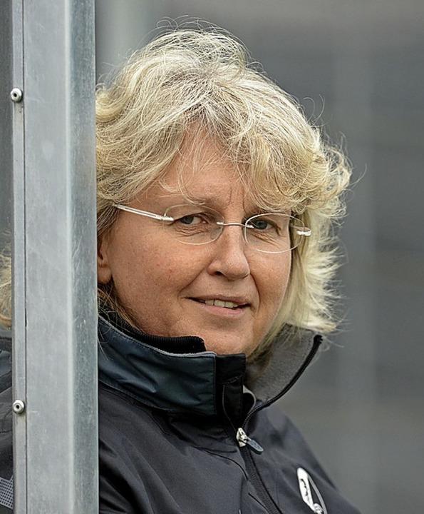 Birgit Bauer, seit Jahrzehnten für die SC-Frauen zuständig.  | Foto: Patrick Seeger