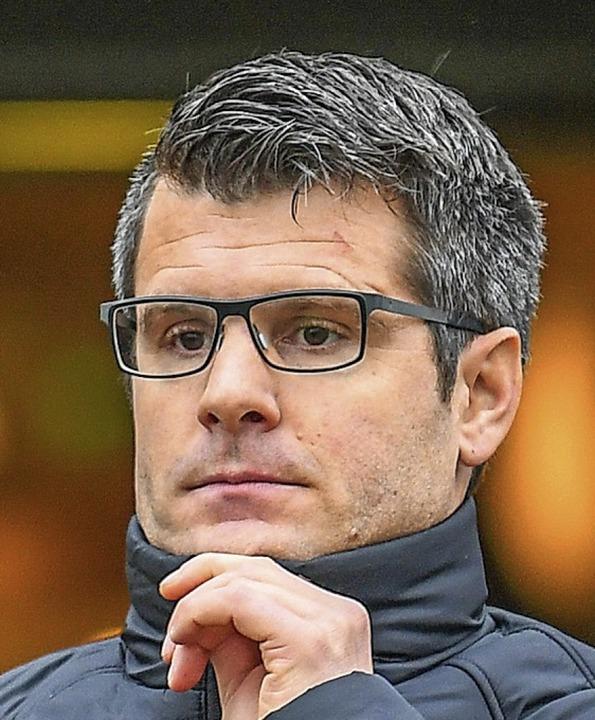 Jens Scheuer, Noch-Trainer der SC-Frauen.  | Foto: Patrick Seeger