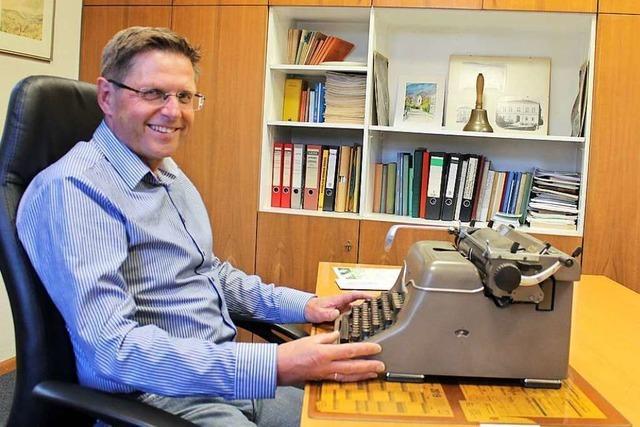 Nach 30 Jahren verabschiedet sich Jürgen Schopferer als Ortsvorsteher von Egringen