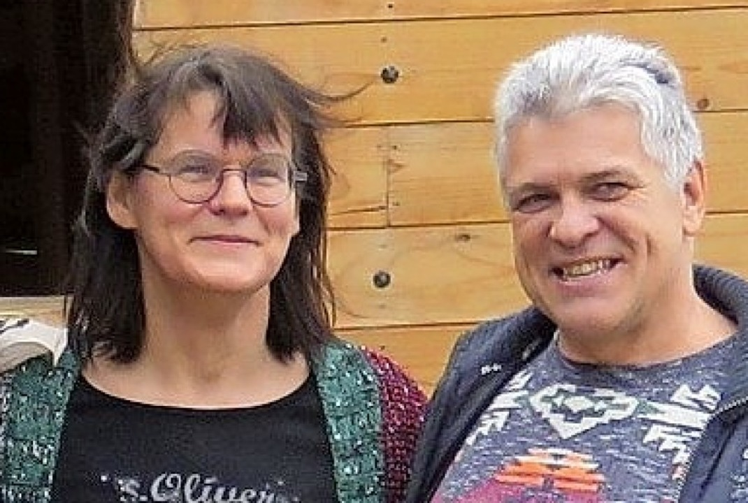 Katharina und Oliver Damm, frisch gebackene Piratenschiffbesitzer  | Foto: Christine Ehlenbröker