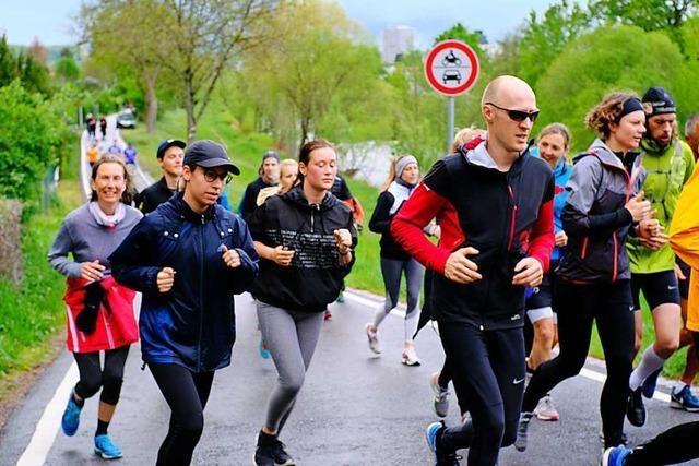 Fast 600 Läufer nehmen am Wiesentäler Wasserlauf teil
