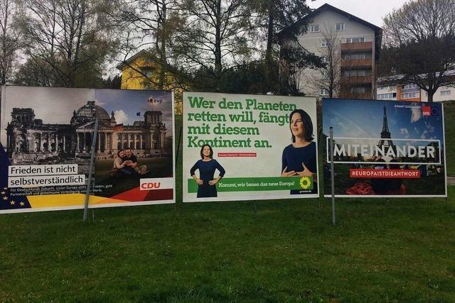 Das sind die Regeln für die Wahlwerbung im Schwarzwald