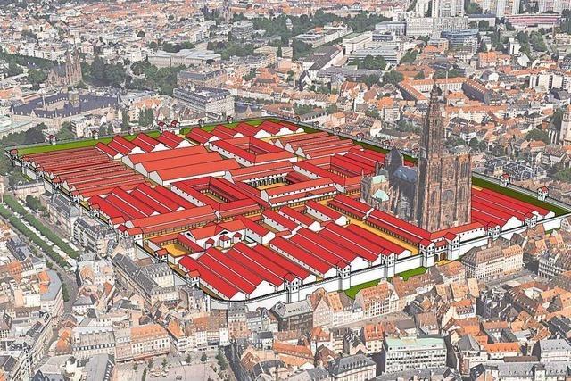 Straßburgs römische Vergangenheit ist im Verborgenen allgegenwärtig
