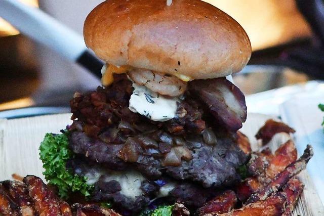 Beim Barstreet Festival in Lahr stehen die Burger klar im Mittelpunkt