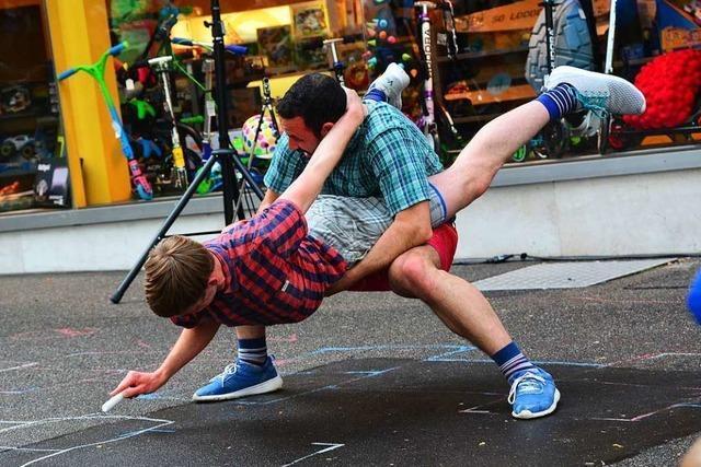 Fünf Tage lang gibt es in Basel Tanz auf öffentlichen Plätzen