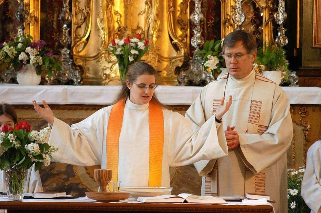 Anja Goller aus Freiburg ist seit 2008...atholischen Kirche weiterhin ein Tabu.  | Foto: Thomas Kunz