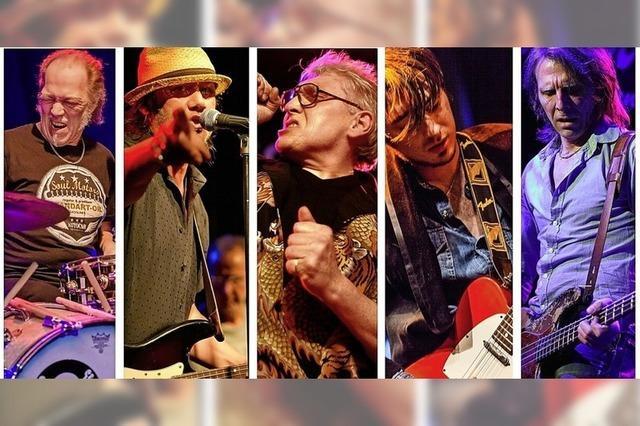 Weiler Bluesnacht mit der Hamburger Bluesband und dem Sänger Chris Farlowe