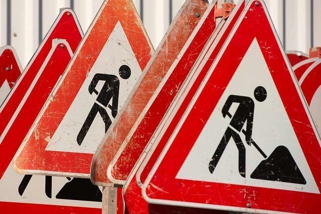 Wann die Bauarbeiten an der Münstertäler L 123 weitergehen, ist unklar
