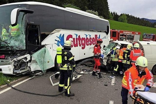 Tödlicher Unfall auf B 294