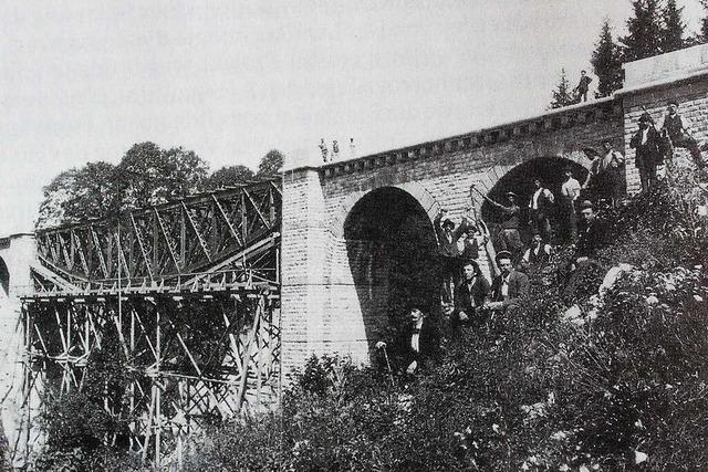 Viele Italiener arbeiten an der Höllentalbahn - wie beim Bau vor 118 Jahren