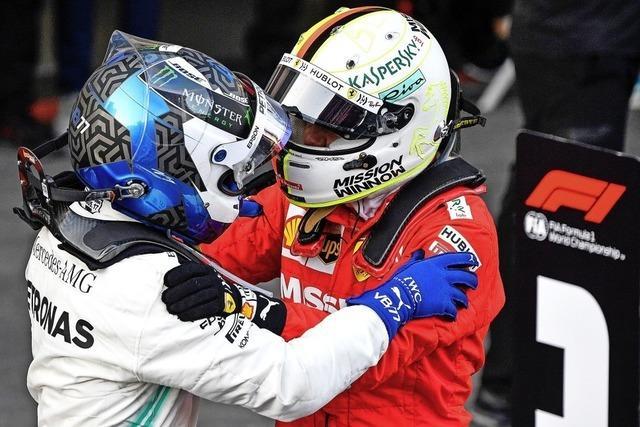 Vettel bleibt nur ein Schulterklopfen