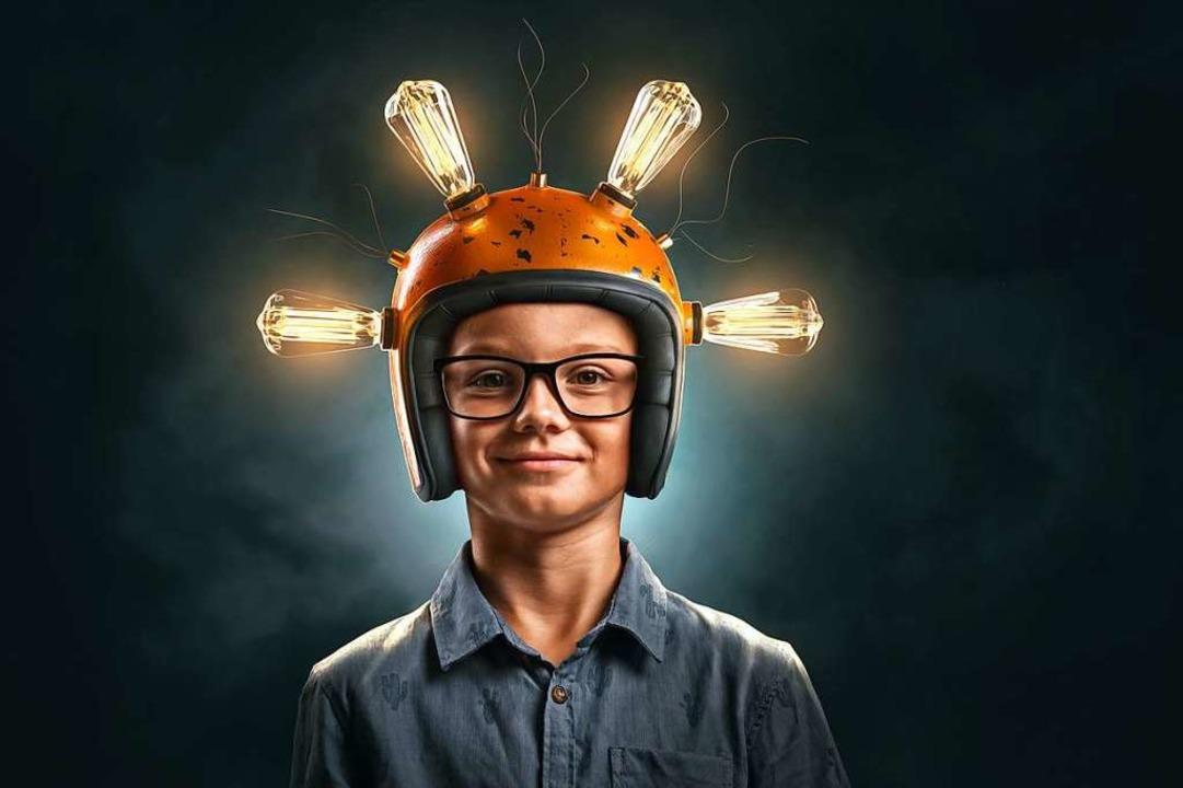 Hochbegabten Kindern geht oft schneller ein Licht auf. (Symbolbild)    Foto: lassedesignen - stock.adobe.com